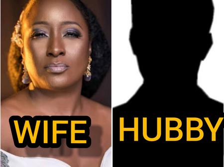 See The Husbands Of Your Favorite Nollywood Actresses. Who Do You Think Has The Most Handsome Man?