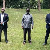 Murathe and Atwoli Finally React To Raila's Meeting With Gideon and Muhoho Kenyatta