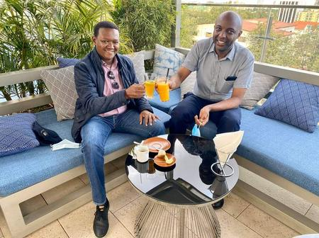 Governor Mutua Buys Kang'ata Drink 'for Speaking Truth'