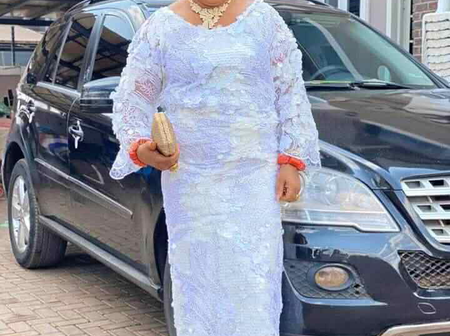 Who Said Money is not Good? See New Photos of Regina Daniel's Mother
