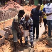 Edo: Lawmaker Community Leaders Lay Foundation For Construction Of Skills Acquisition Centre(Photos)