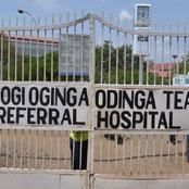 National Construction Authority Orders Evacuation of Patients From Jaramogi Oginga Referral Hospital