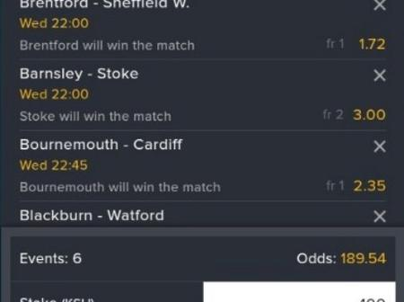 6 Sure English Championship Matches With Boosted Odds
