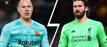 Barcelona or Liverpool goalkeeper. Who is the better goal keeper this season?