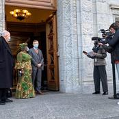 See Pictures Of Okonjo Iweala As She Resumes Office As Director General Of WTO Today