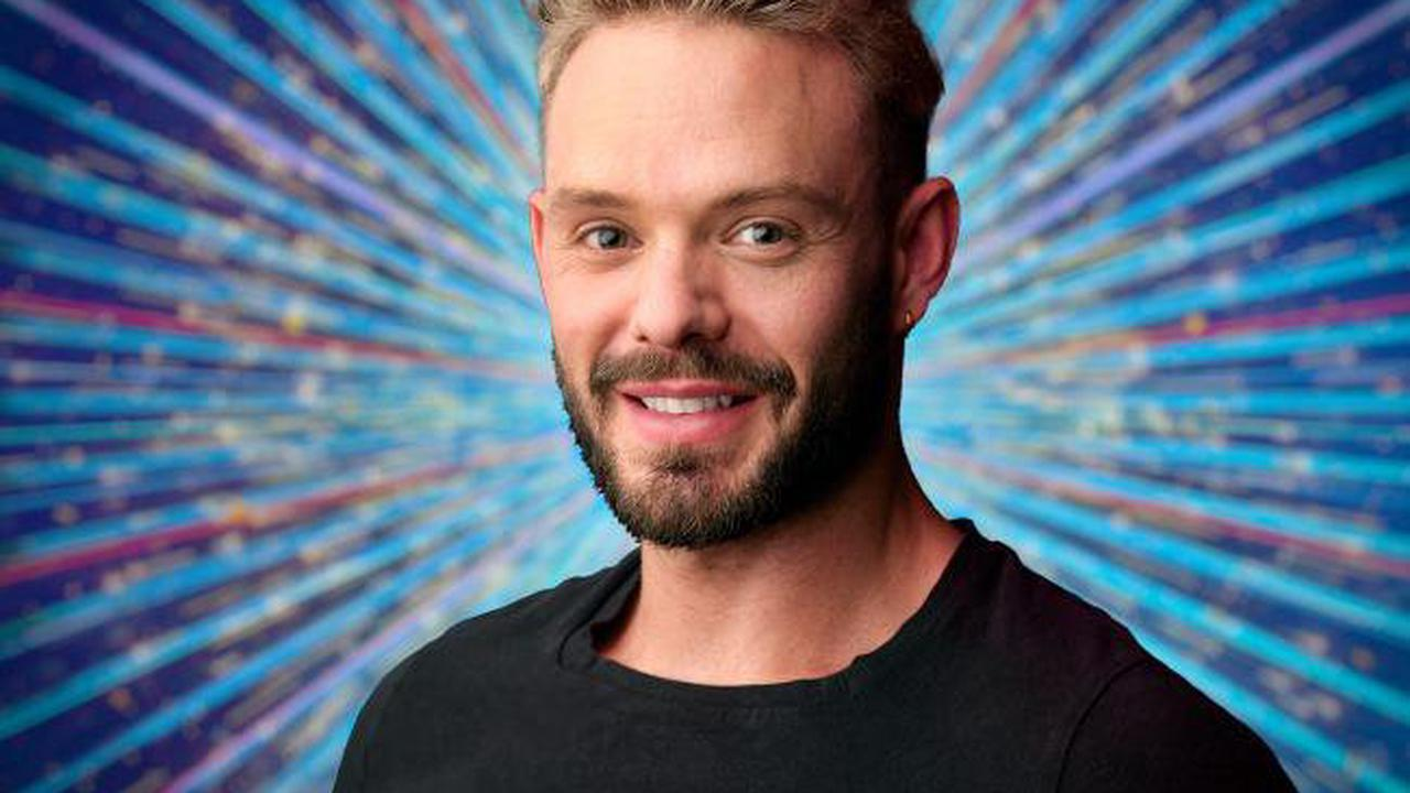 John Whaite says he has cried during Strictly Come Dancing training