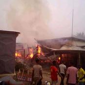 Côte d'Ivoire : un grave incendie signalé à Adzopé