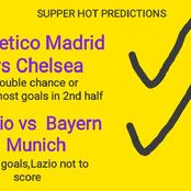 Sure Matches today with brilliant Betslips to win you huge