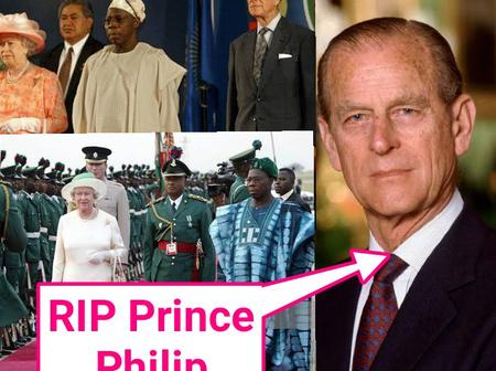 Read Prince Philip statement to Obasanjo when accompanied Queen Elizabeth to Nigeria in 2003