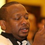 Energetic Mike Sonko Spotted Working Alongside Mjengo Guys -VIDEO