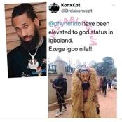 Phyno's Image Has Been Used To Make A Masquerade Mask