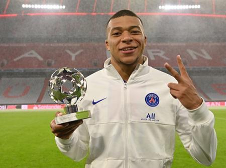 Mbappe Sets New UCL Record