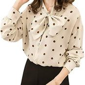 Poker Dots Blouses Ladies should have in their wardrobe