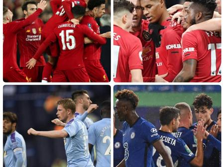 UEFA CL: Checkout All The Group Stage Fixtures For Chelsea, Man United, Liverpool And Man City