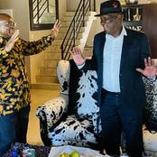 Ramaphosa Breaks Silence On Bheki Cele's Visit To Jacob Zuma's Nkandla Home