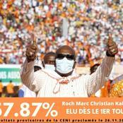 Roch Kaboré remporte l'élection présidentielle au Burkina Faso