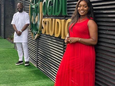 Bisola sends congratulatory message to her management CEO