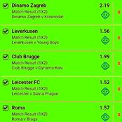 Friday's Genuinely predicted VIP Multibets With Both Teams To Score And Correct Score To Earn Hugely