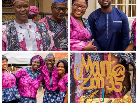 Checkout Photos From Moun Zion At 35  And Mount Zion Studio Launching.