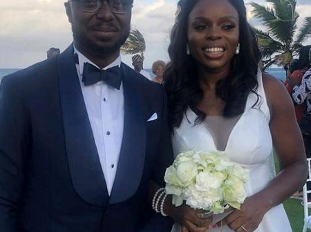 Meet the Daughter of Ondo State Governor and her lovely Husband.