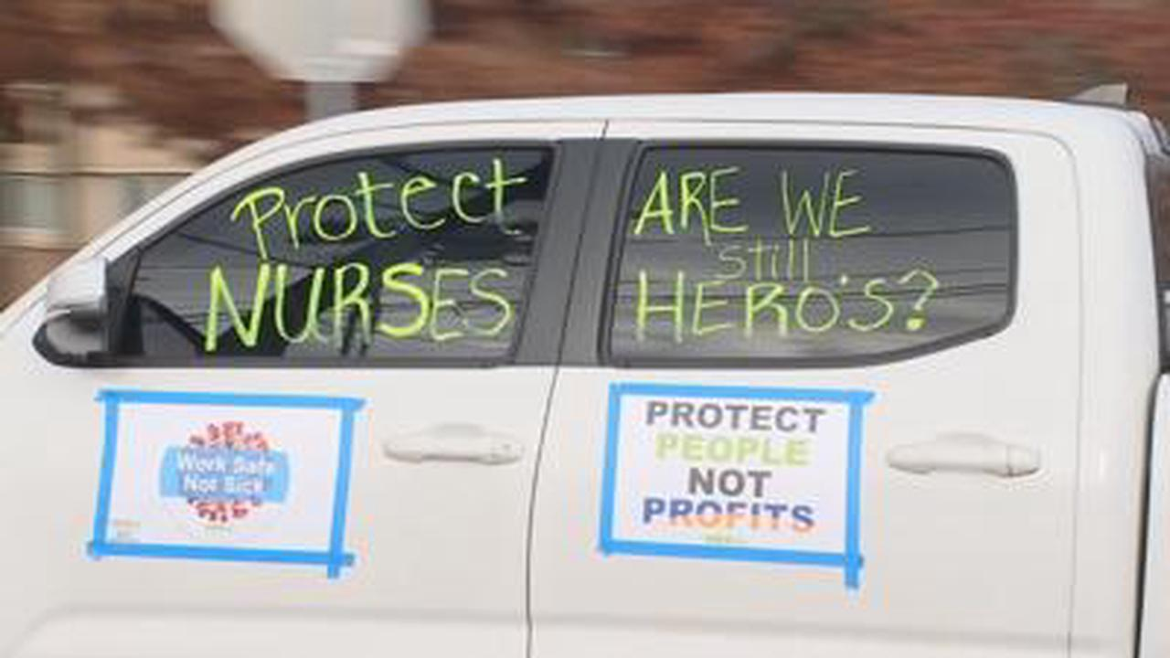 Nurses protest lack of COVID protections within Providence health system