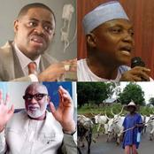 After The Presidency Told Akeredolu He Can't Order Herdsmen Out Of Ondo State, See What FFK Said