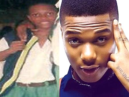 The throwback photos of Wizkid will restore hope in you (No:4 will shock you)