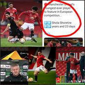 UEFA celebrates Nigeria born Youngster as he makes History in Europa league, United Injury Updates