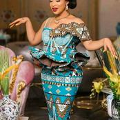 Check Out These Beautiful And Lovely Ankara Designs From Actress Tonto Dike (See Photos)