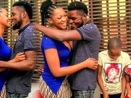 See Comedian Mark Angel Beautiful Wife And Daughter