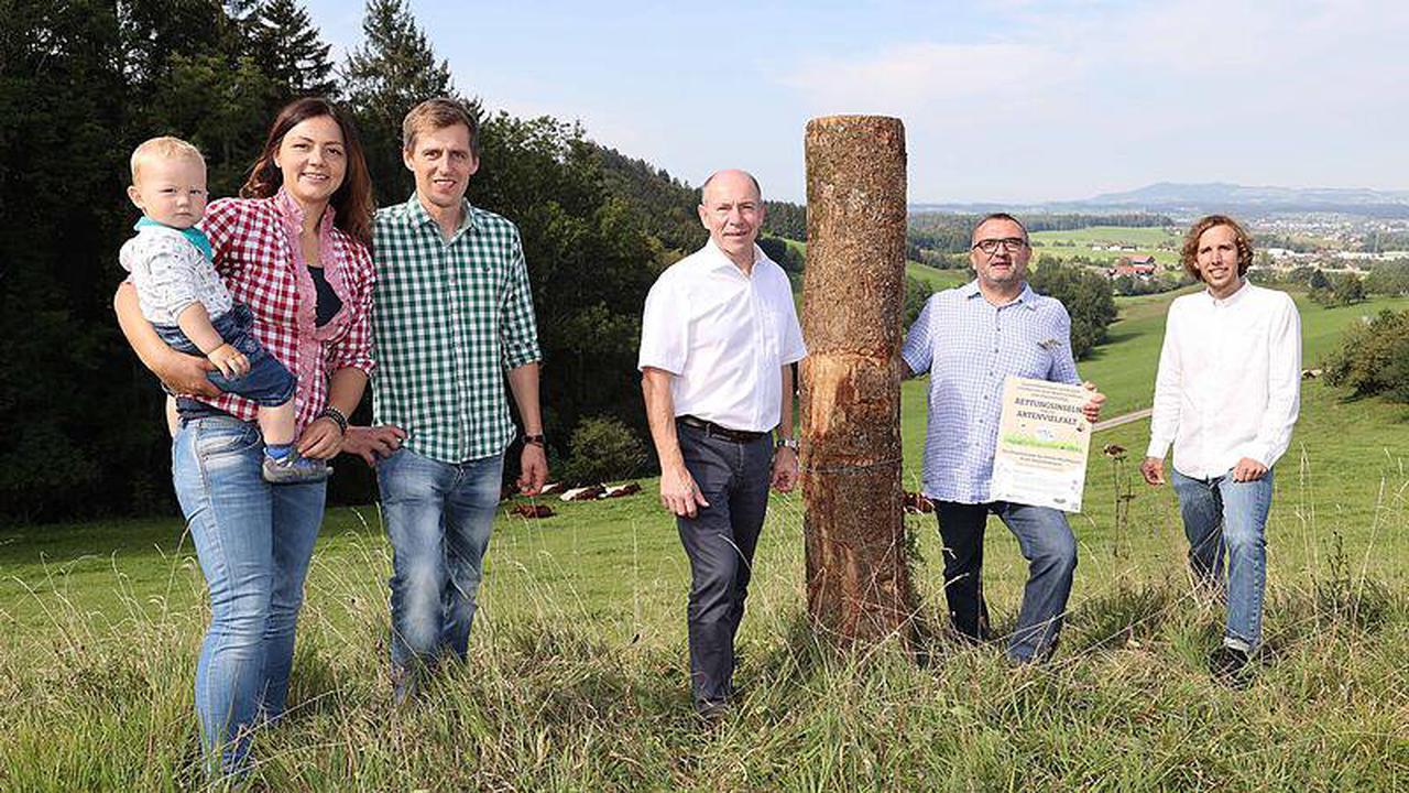 """""""Artenvielfalt in Bauernhand"""": Landesrat lobt Woerle-Projekt"""