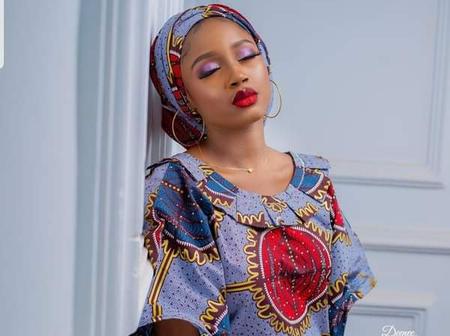 Beautiful New Photos Of Hausa Film Actress Maryam Yahaya.