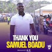Coach Samuel Boadu leaves Medeama SC, set to take the vacant position at Hearts of Oak