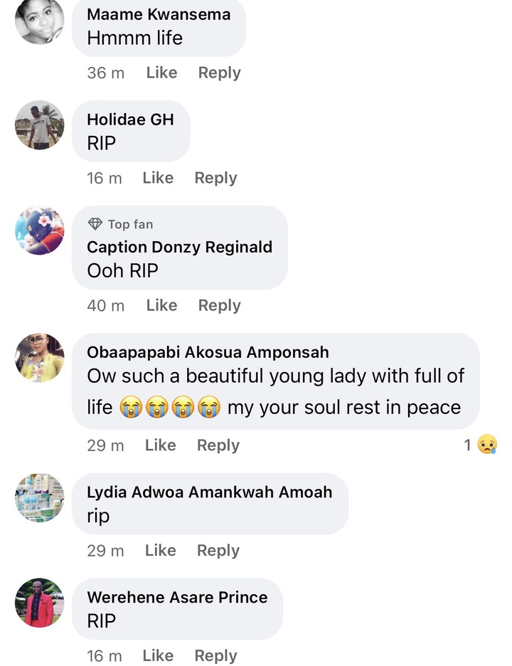 1f0c28044fbdaec659addb0234b4c057?quality=uhq&resize=720 - Sad: Benedicta Gafah shed tears As She mourns her sister who was reported dead In A Fatal Accident (Photos)
