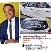 "Divorce: DaddyFreeze ""roasts"" troll who said his ex-wife beat him till he passed out"