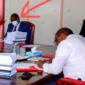 Here's Where DP Ruto Was Seated In A Meeting With Uhuru's Cabinet Members Today