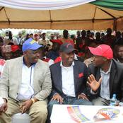 Gideon Moi Invades Ruto's Territory, Meets Eldoret MP in a 'Poaching' Mission