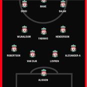 Liverpool Vs Atalanta: This Is How Liverpool Could Lineup Against Atalanta Tomorrow.