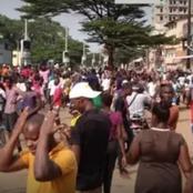 Guinée : scènes de liesse chez les partisans de Dalein Diallo qui se déclare vainqueur des élections