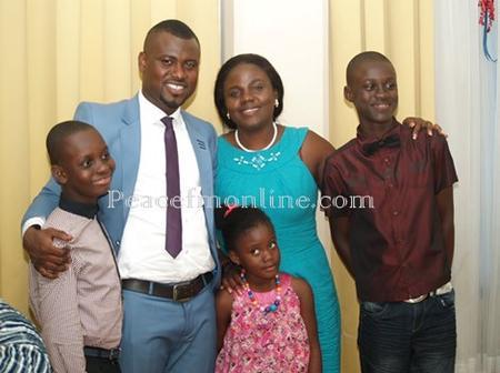 See The Ex-wives And Children Of Lilwin, Asamoah Gyan, Abeiku Santana And Kantanka Jnr.
