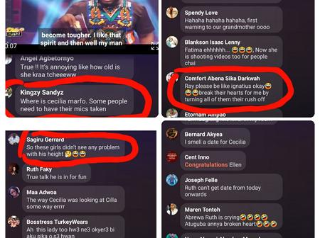 Ghanaians are really funny - Checkout hilarious comments during live streaming of Date Rush