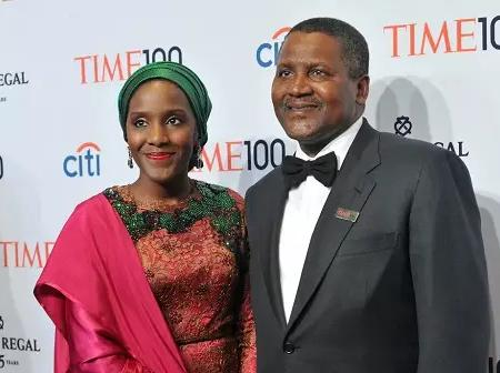 Meet Aliko Dangote's Childreen
