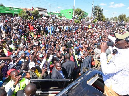 DP Ruto Fight For Us A constituency And Not Wheelbarrows, Says Senator