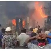 Today's Headlines: Fire Guts Onitsha Plastic Market, Atiku Abubakar Congratulates Olusegun Obasanjo