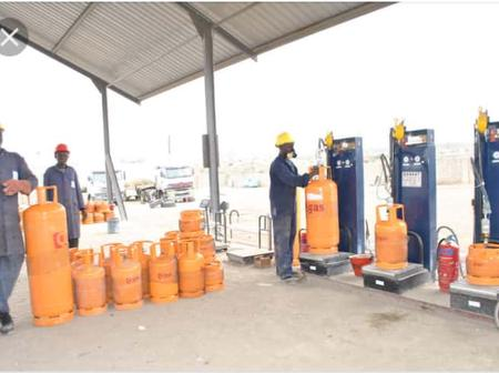 For Selling Cooking Gas At A Cheaper Price, See What Union Members Did To A Gas Station