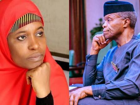 Blasts Aisha Blasted For What She Said After Osinbajo Approved $1.5b For Port-Harcourt Refinery