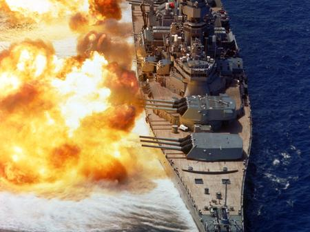 5 Dangerous War Ships Used By The Nigerian Navy