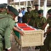 See photos of Wangari Maathai's unique casket that was made up of bamboo frame and water hyacinth