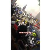 Team Ogun Beat Referee And Their Opponents After losing A Boxing Match To Team Lagos (Video)