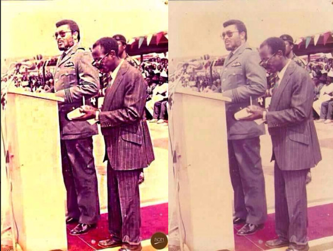 """1f81810fd9aebbc3205c3694d9df9ba9?quality=uhq&resize=720 - """"Photo Of The Day"""": 90s Photo Of JJ Rawlings And 'Alleged' Asiedu Nketiah Will Make Your Day"""